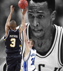 Former VCU guard Eric Maynor with shooting the dagger to upset Duke in the 2007 tournament